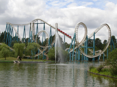 Oziris, attraction du Parc astérix
